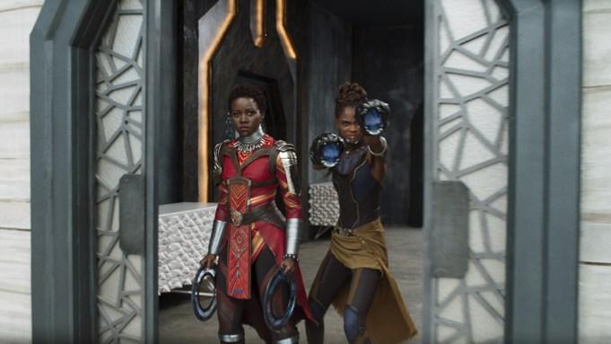 Marvel Studios' BLACK PANTHER..L to R: