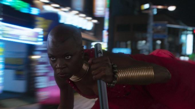 Marvel Studios' BLACK PANTHER..Okoye (Danai Gurira)..Ph: