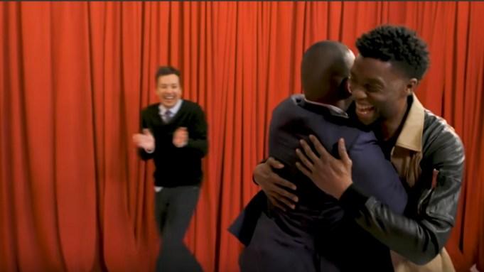Chadwick Boseman Surprises 'Black Panther' Fans