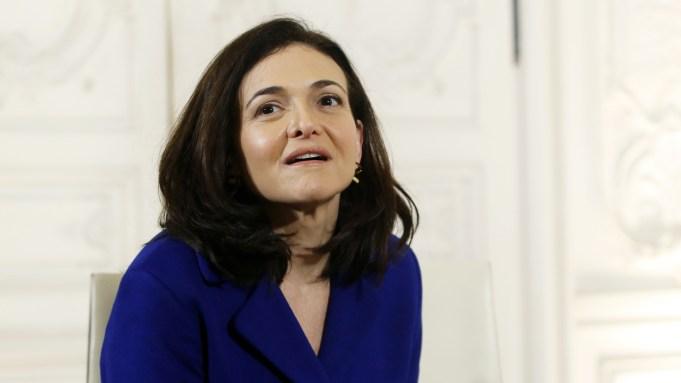 Sheryl Sandberg - Facebook