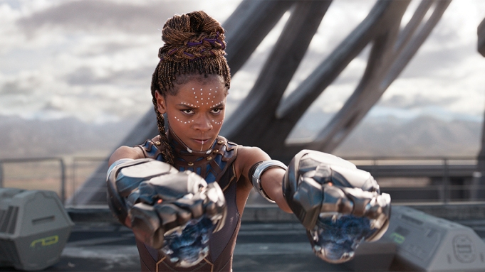 Marvel Studios' BLACK PANTHER..Shuri (Letitia Wright)..Ph:
