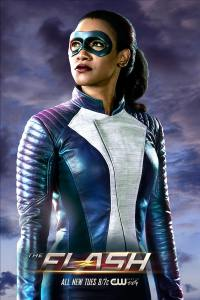 The Flash -- Image Number: FLA_Iris_Single.jpg -- Pictured: Candice Patton as Iris West -- Photo: Katie Yu/The CW -- © 2018 The CW Network, LLC. All rights reserved.