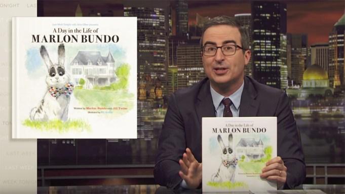 John Oliver Marlon Bundo