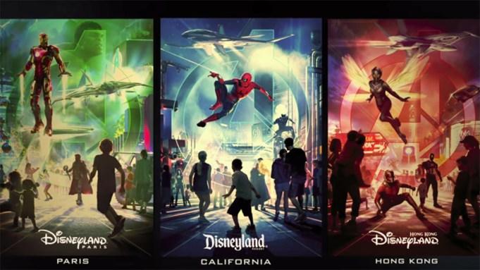 Marvel Disneyland