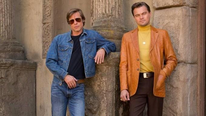 Brad Pitt Leonardo DiCaprio Once Upon