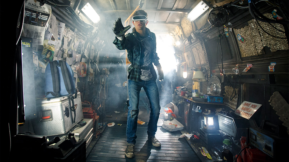 how real is the virtual reality technology in ready player one variety https variety com 2018 digital news ready player one vr tech 1202739419