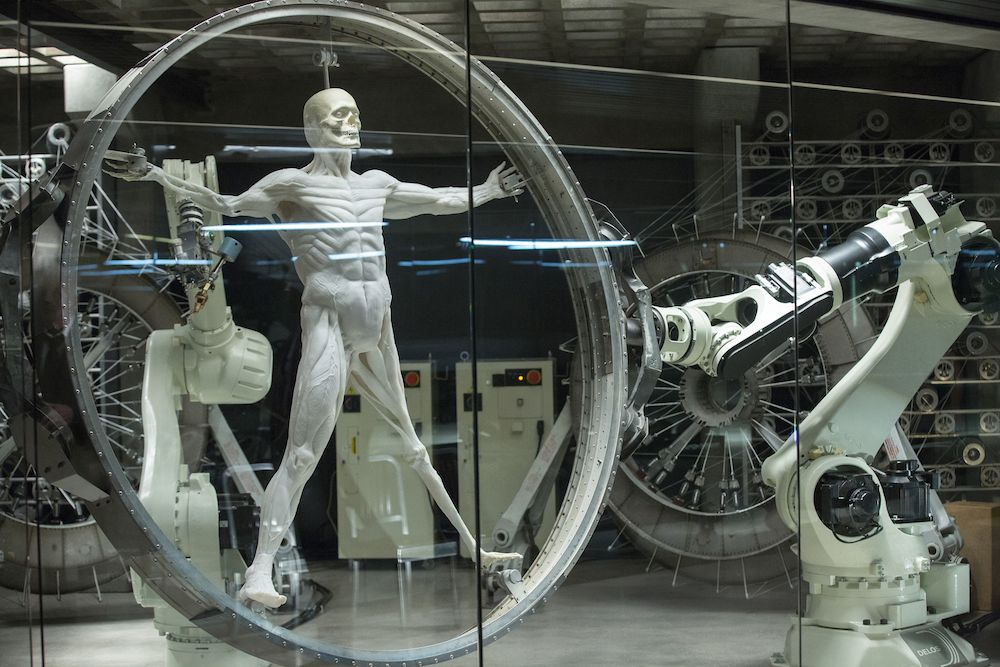 No Merchandising. Editorial Use Only. No Book Cover UsageMandatory Credit: Photo by Bad Robot/Kobal/REX/Shutterstock (7749141as)Scene from Season 1'Westworld' TV Series Season 1 - 2016