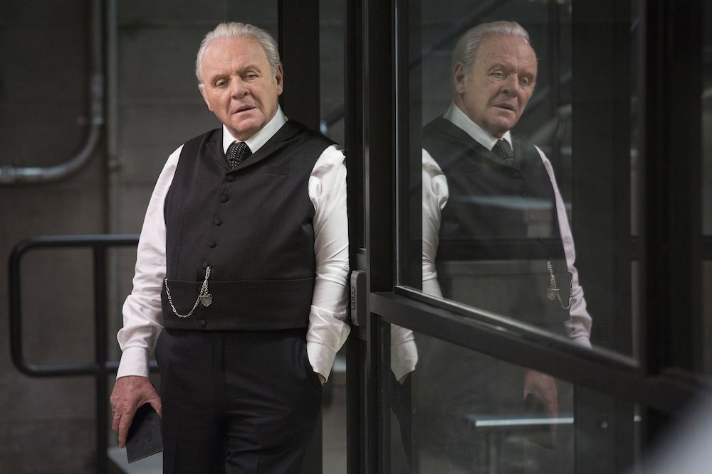 No Merchandising. Editorial Use Only. No Book Cover Usage Mandatory Credit: Photo by Bad Robot/Kobal/REX/Shutterstock (7749141bc) Sir Anthony Hopkins 'Westworld' TV Series Season 1 - 2016