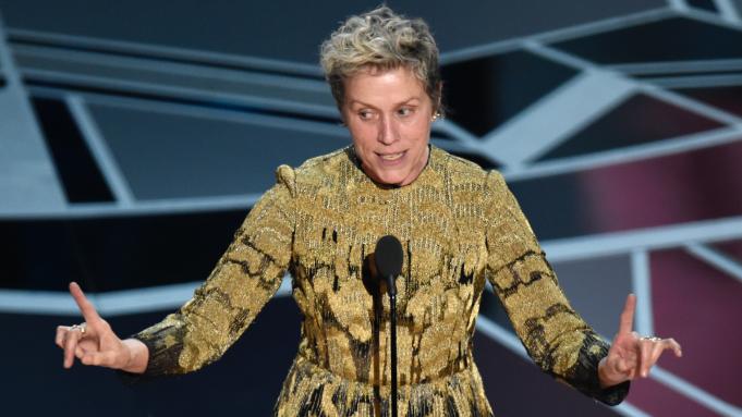 Frances McDormand Oscars