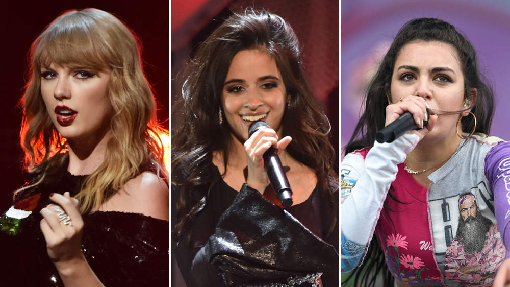 Taylor Swift Sets Reputation Opening Acts Camila Cabello Charli Xcx Variety