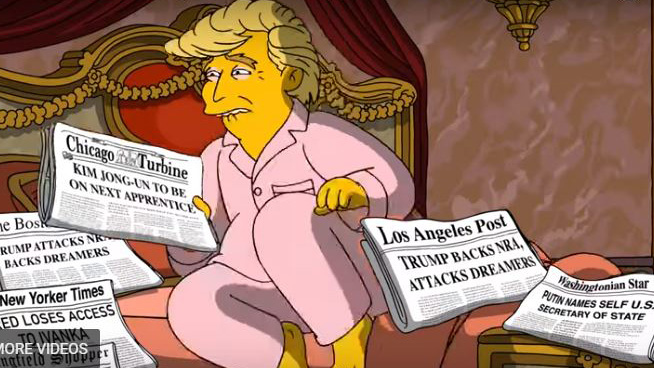 'The Simpsons' Team Releases Clip Mocking