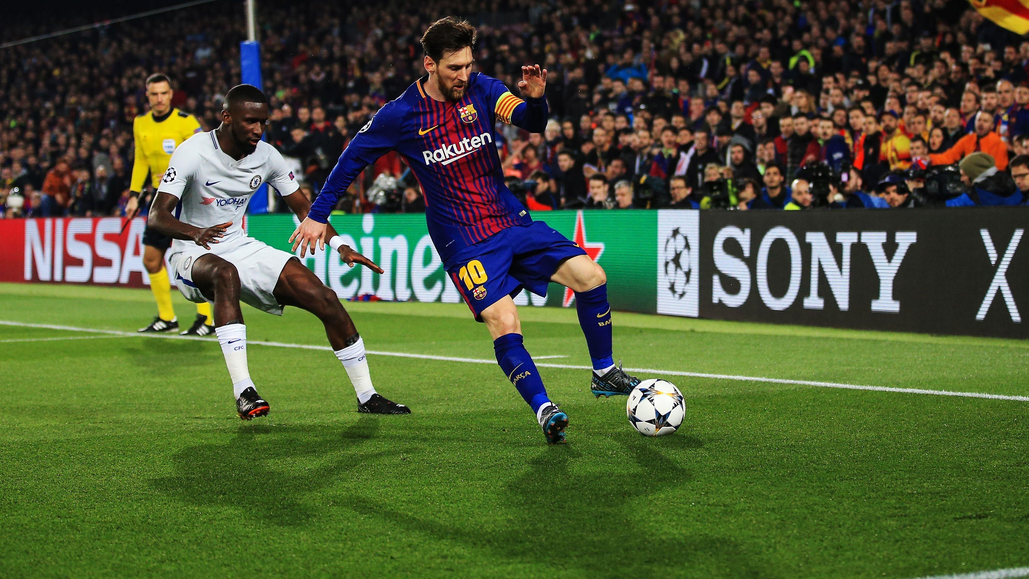 UEFA Champions League - Barcelona v Chelsea, Spain - 15 Mar 2018