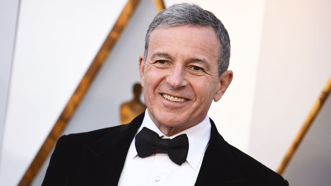 Bob Iger arrives at the Oscars,