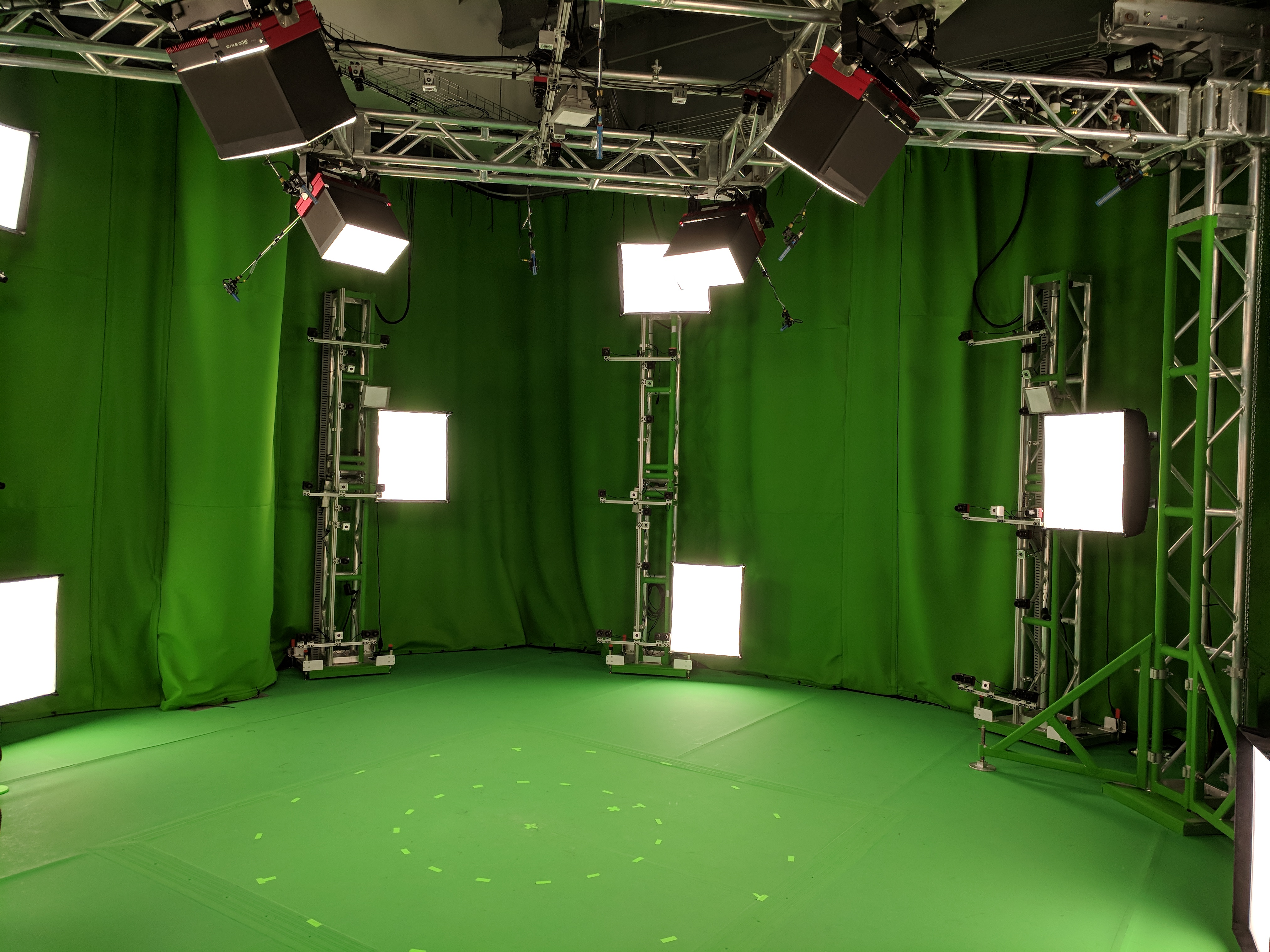 Microsoft's Mixed Reality Capture studio San Francisco