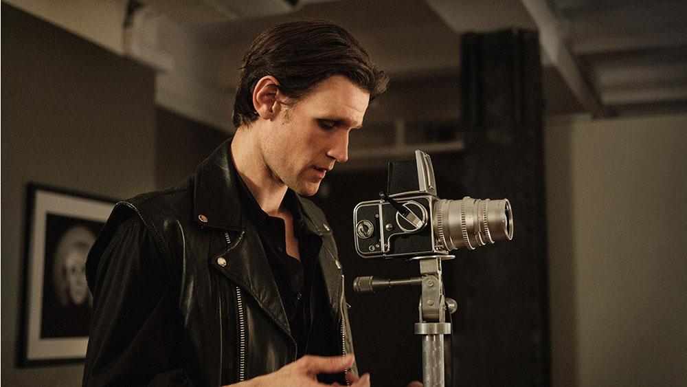 Matt Smith as Robert Mapplethorpe in MAPPLETHORPE. Photo credit: Christopher Saunders.