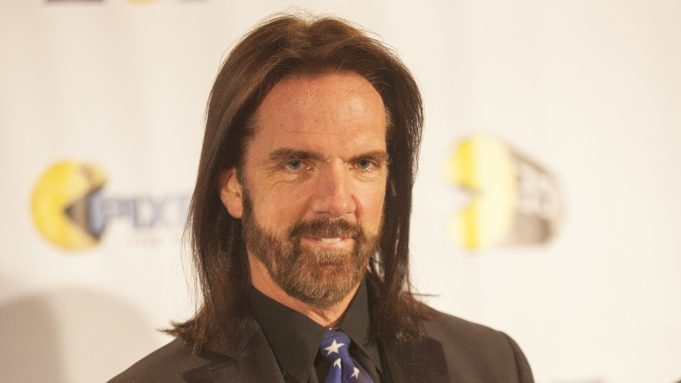 Video gamer Billy Mitchell appears at the PAC-MAN's Official 35th Birthday Celebration in Schaumburg, Ill. On Friday, Nov. 20, New Jersey Federal District Judge Anne Thompson threw out Mitchell's lawsuit against the Cartoon Network claiming that a cartoon character portraying him as a bearded, floating head stole his likeness. The court ruled the show is protected by the First AmendmentDonkey Kong Champion Lawsuit, Schaumburg, USA