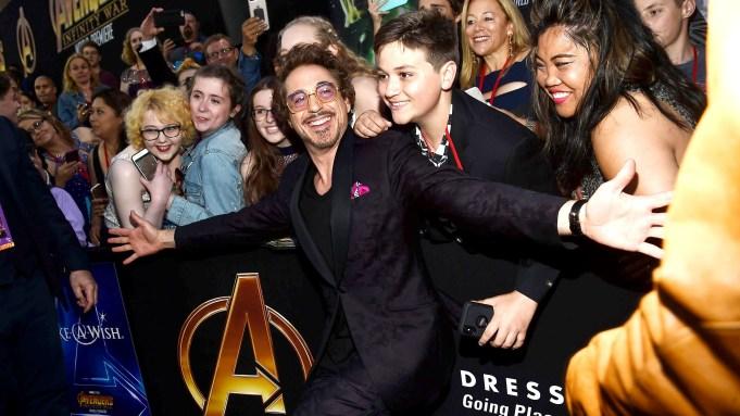 Robert Downey Jr'Avengers: Infinity War' film