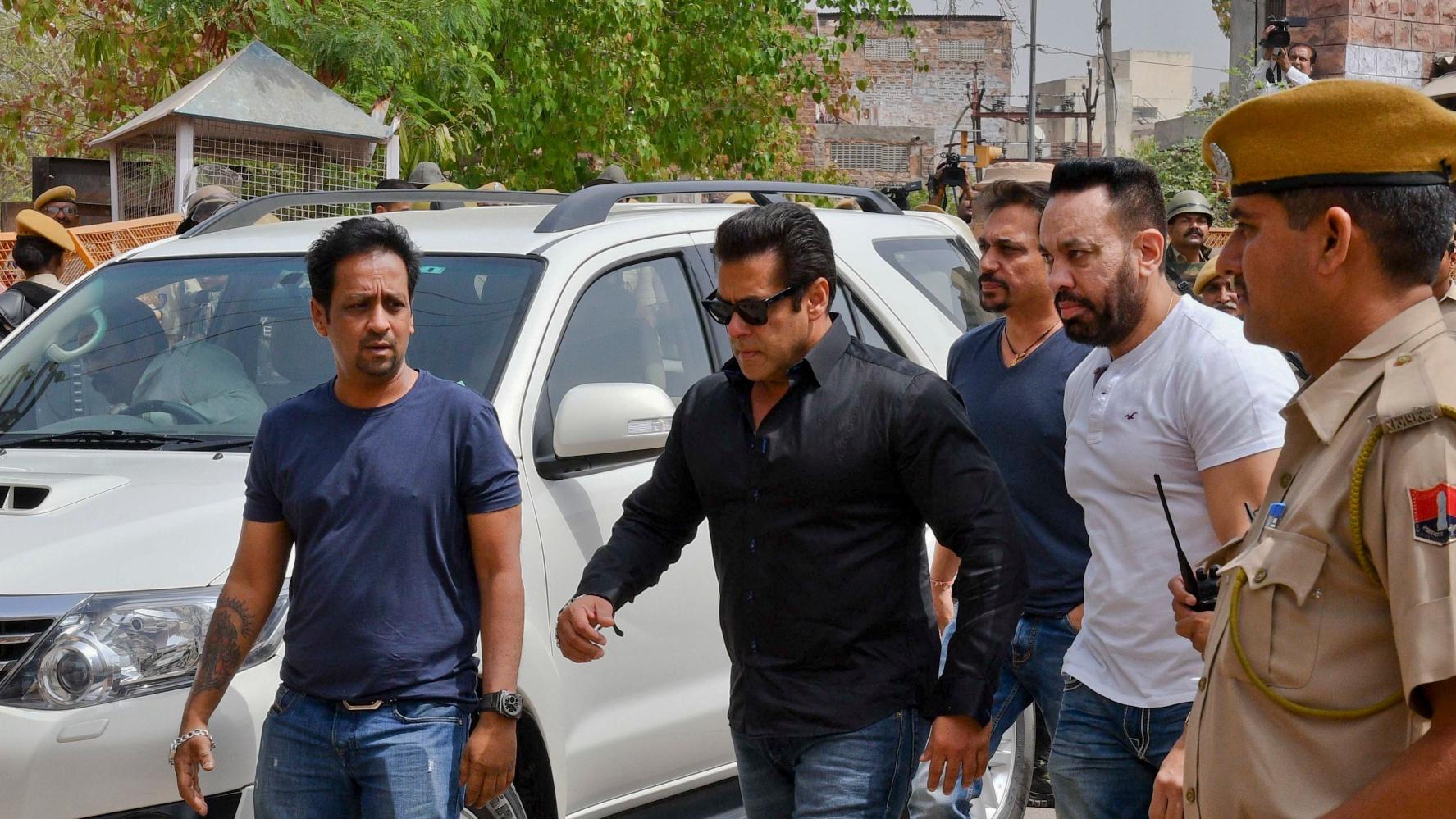 Bollywood Superstar Salman Khan Jailed After 20-Year-Long Legal Case