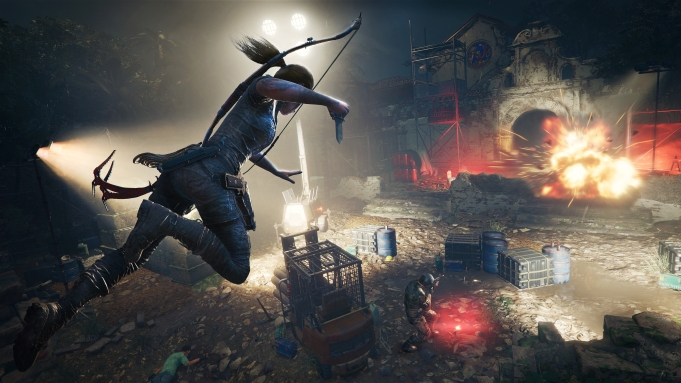'Shadow of the Tomb Raider' Gameplay