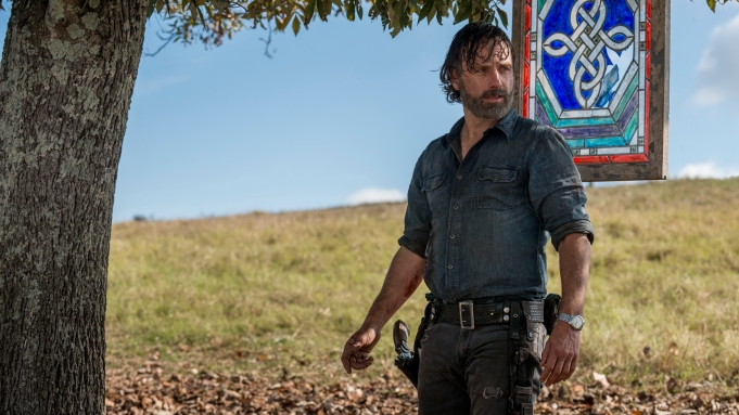 Andrew Lincoln as Rick Grimes - The