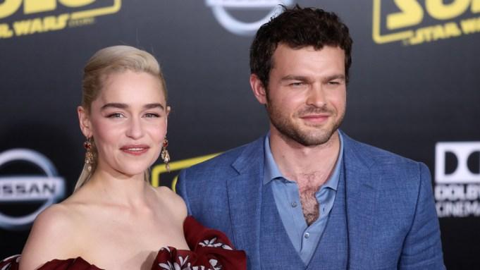 Emilia Clarke Alden Ehrenreich Solo: A