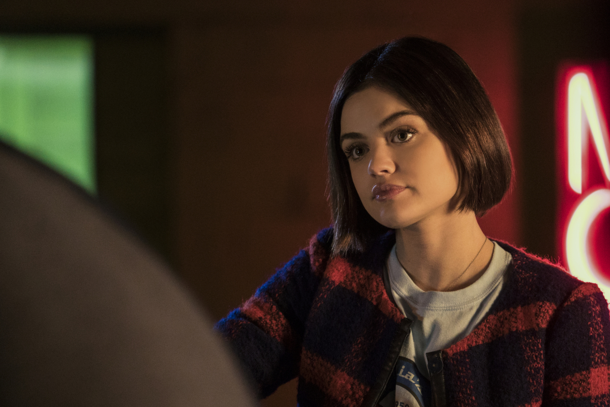 """Life Sentence -- """"Sleepless Near Seattle"""" -- Image Number: LFS108a_0288.jpg -- Pictured: Lucy Hale as Stella -- Photo: Katie Yu/The CW -- © 2018 The CW Network, LLC. All Rights Reserved."""