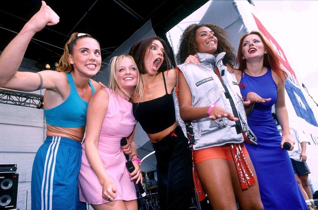 SPICE GIRLSCapital Radio Summer Jam, Clapham Common, London, Britain - 1996