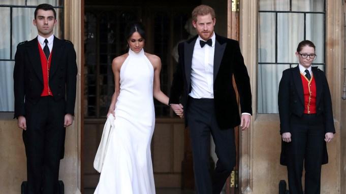 The newly married Duke and Duchess