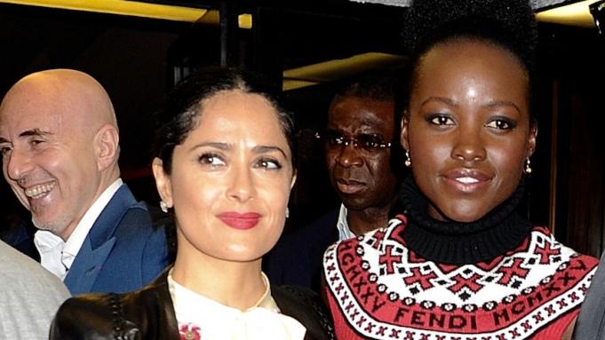 Salma Hayek Says Harvey Weinstein Only