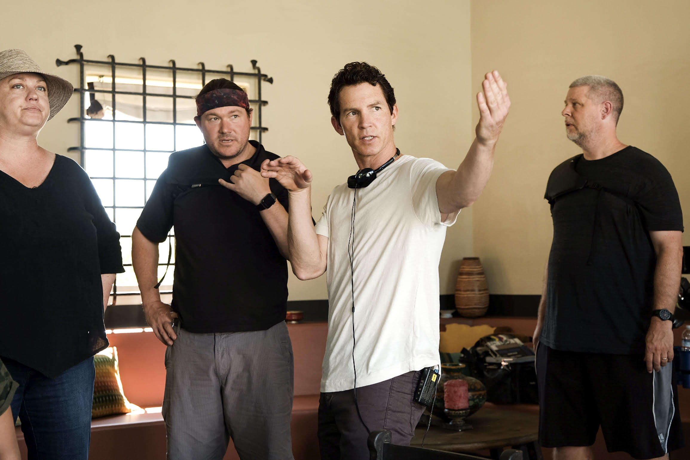 Shawn Hatosy directing Season 3 Episode 311 Animal Kingdom.