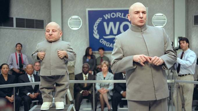 Verne Troyer Mike Myers