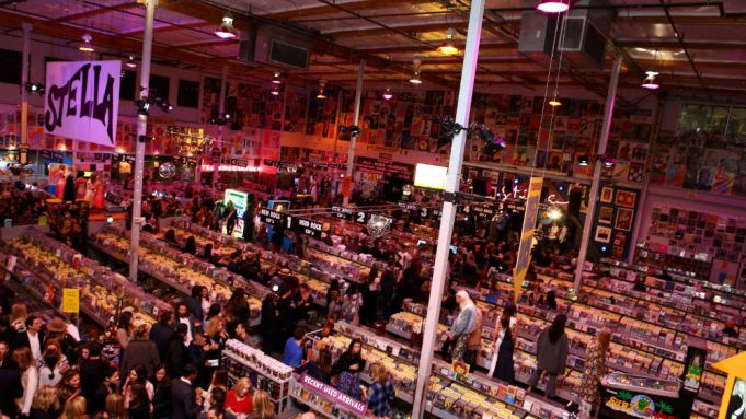L.A.'s Amoeba Music Enlists Tyler, the