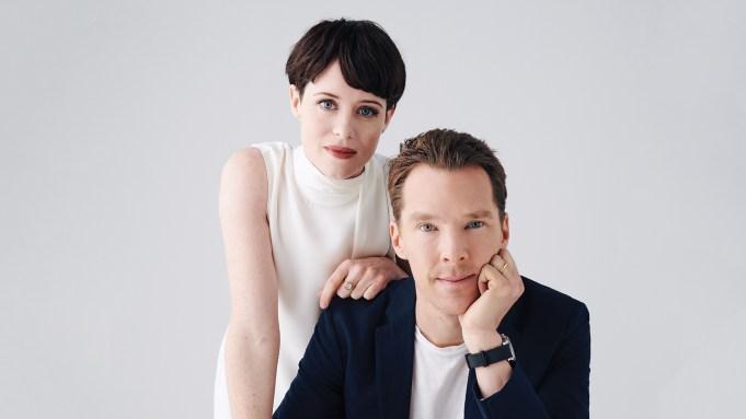 Claire Foy and Benedict Cumberbatch -