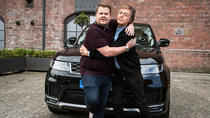 Carpool Karaoke in London with Paul