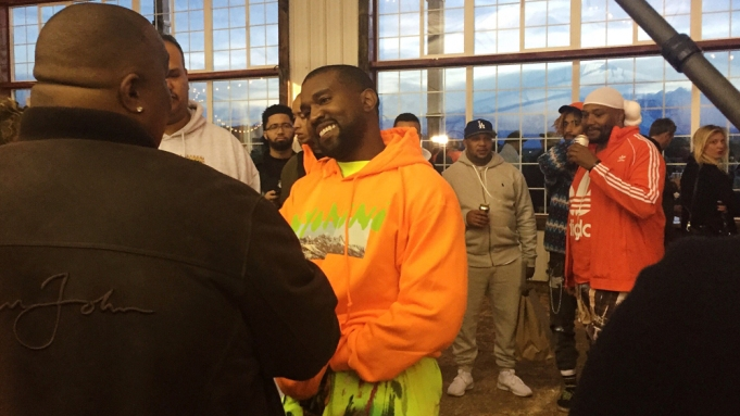 Kanye West Wyoming listening party