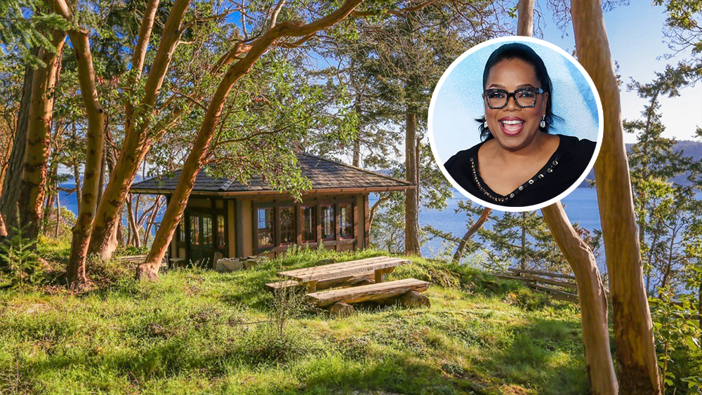 Oprah Winfrey Scoops Up $8 Million Estate on Washington's Orcas Island