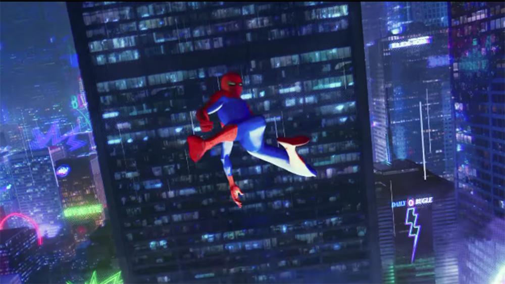 Spider Man Into The Spider Verse Trailer Drops Watch Variety