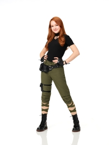 "KIM POSSIBLE - Disney Channel's ""Kim Possible"" stars Sadie Stanley as Kim Possible. (Disney Channel/Craig Sjodin)"
