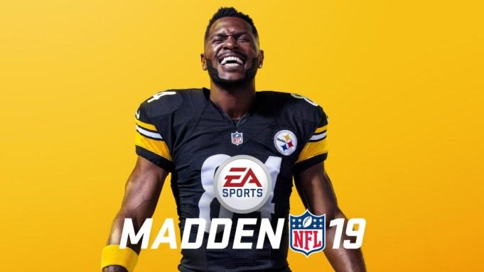 Steelers' Antonio Brown Named 'Madden NFL