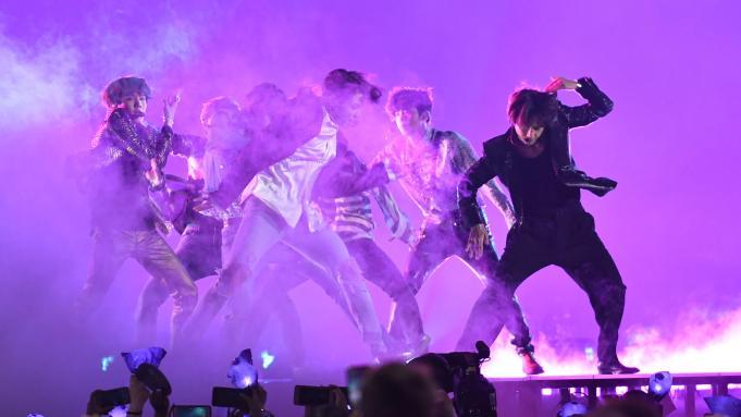 BTS Billboard Music Awards, Show, Las