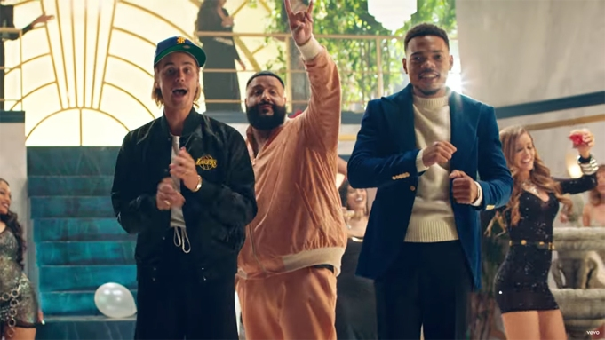 DJ Khaled, Justin Bieber, Chance the