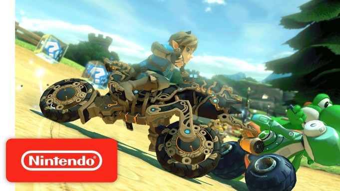 'Breath Of The Wild's' Motorcycle Races