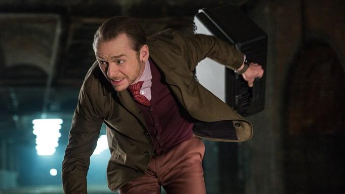 Simon Pegg as Benji Dunn in
