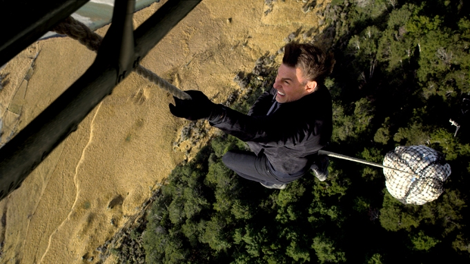 Tom Cruise as Ethan Hunt in