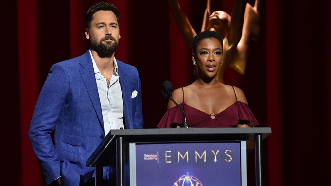 Ryan Eggold and Samira Wiley70th Emmy