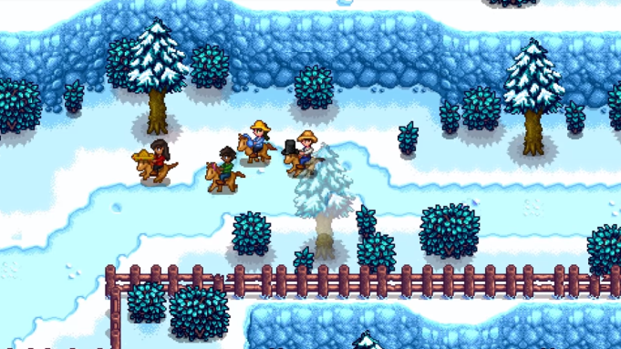 'Stardew Valley' Multiplayer Officially Arrives On