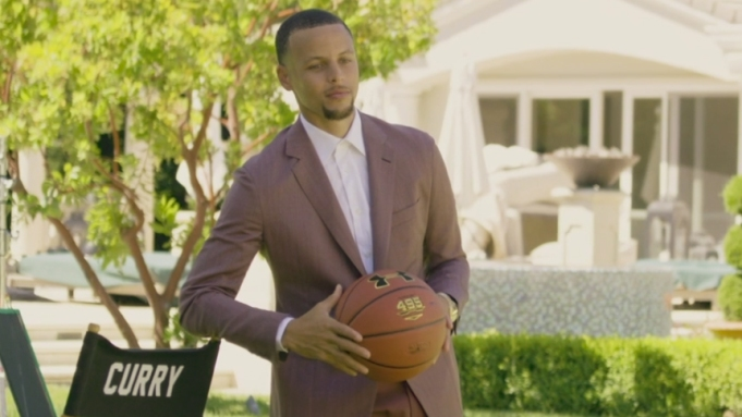 Steph Curry Uncovered