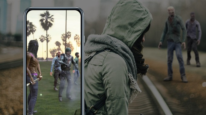 'The Walking Dead's' Augmented Reality Game