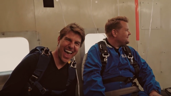 Tom Cruise, James Corden 'Fall Out'