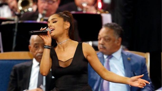 Watch Ariana Grande Perform at Aretha